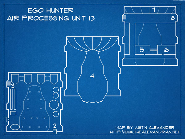 Eclipse Phase: Ego Hunter - Air Processing Unit 13