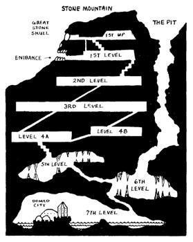 пример подземелья из Holmes' Basic Set
