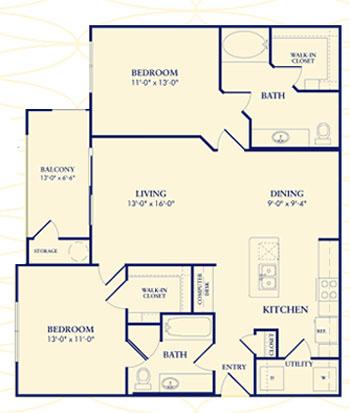 """theAlexandrian - Apartment Floorplan"""