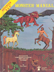 Monster Manual - AD&D 1st Edition