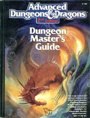 AD&D Dungeon Master's Guide - 2nd Edition
