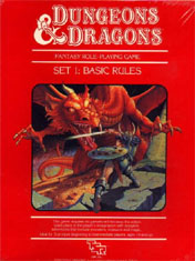 D&D Basic Set 1983