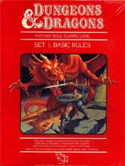D&D Basic Set 1983