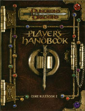 D&D Player's Handbook - 3rd Edition