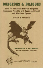 OD&D Volume 2: Monsters & Treasure