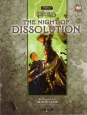 Night of Dissolution - Monte Cook