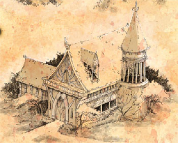 Ptolus - Iridithil's Home