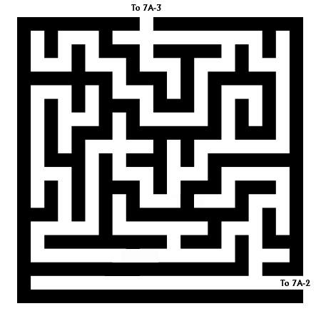 Maze 7A-E - The Flooding Maze