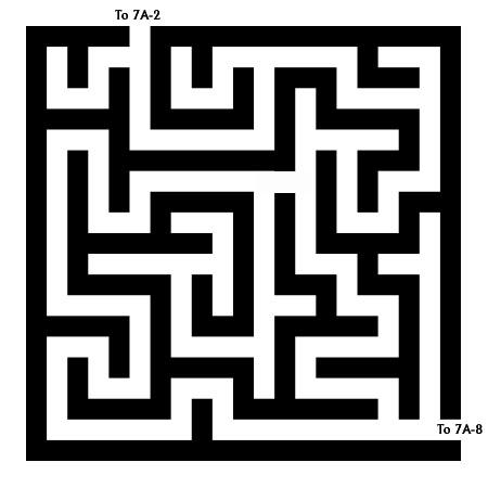Maze 7A-F - Maze of Confusion