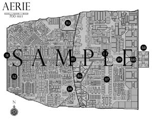 Aerie - Poster Map