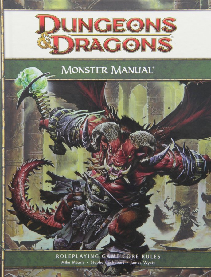 4th Edition - Monster Manual