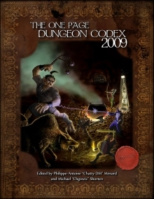 One Page Dungeon Codex