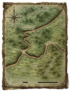 Winterhaven Area Map