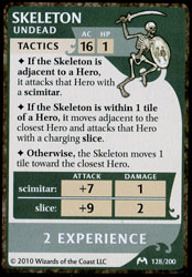 Castle Ravenloft - Skeleton