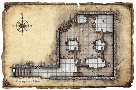 Keep on the Shadowfell - Goblin Excavations