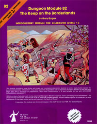B2 Keep on the Borderlands - Gary Gygax