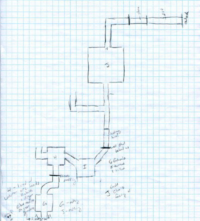 Crypt of Luan Phien - Player's Map 2