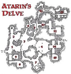 Atarin's Delve - Dyson Logos