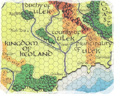 Greyhawk Map Sample