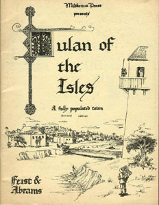 Tulan of the Isles - Raymond E. Feist and Stephen Abrams (1981)