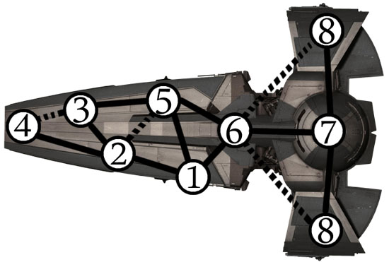 Sith Infiltrator With Secret Paths
