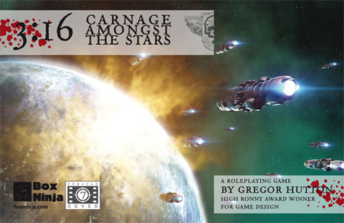 3:16 Carnage Amongst the Stars - Gregory Hutton