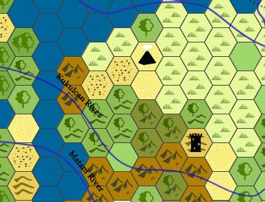 Hexcrawl Map