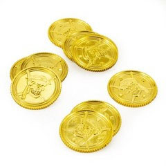 Gold Coins for Bribing