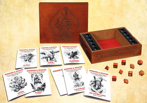 Original Edition Premium Reprint of the 1974 D&D White Box - Wizards of the Coast