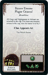 Arkham Horror - Mythos Card