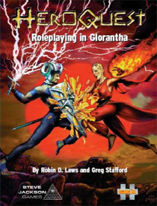 HeroQuest: Roleplaying in Glorantha - Robin D. Laws and Greg Stafford