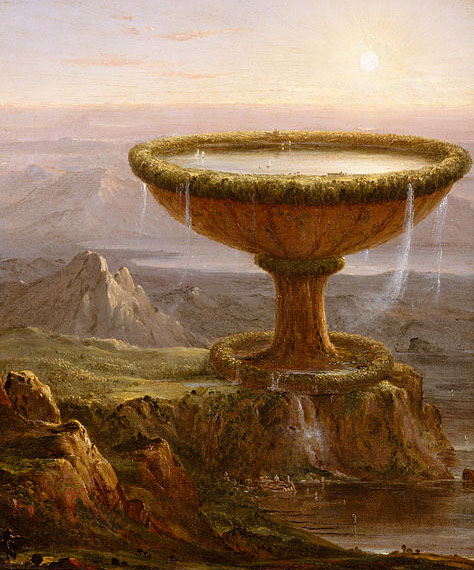 The Titan's Goblet - Thomas Cole