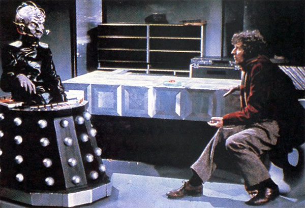 Genesis of the Daleks - Davros and the Doctor