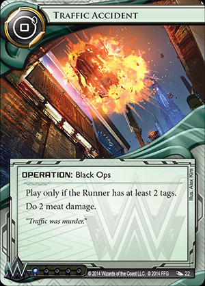 Traffic Accident - Android: Netrunner