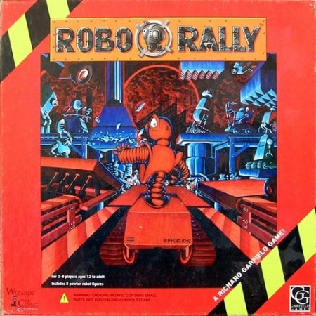 RoboRally - 1st Edition