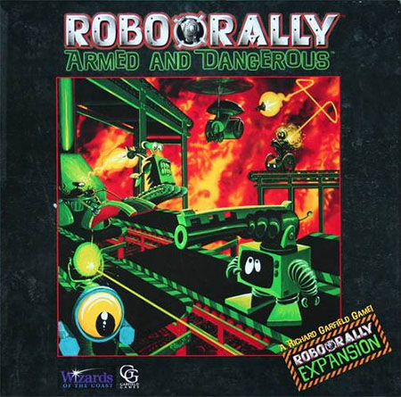 RoboRally - Armed and Dangerous