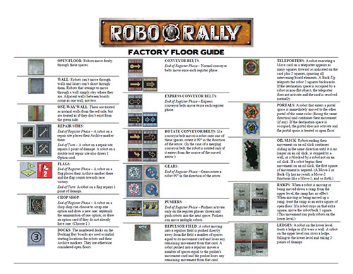 RoboRally Ultimate Collection - Factory Floor Guide