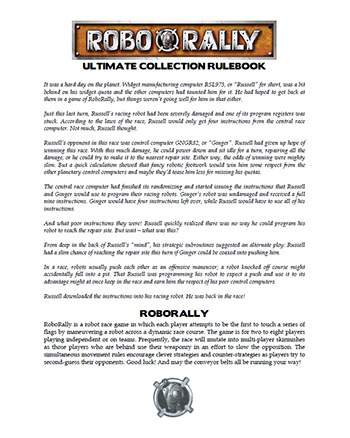 RoboRally - Ultimate Collection Rulebook