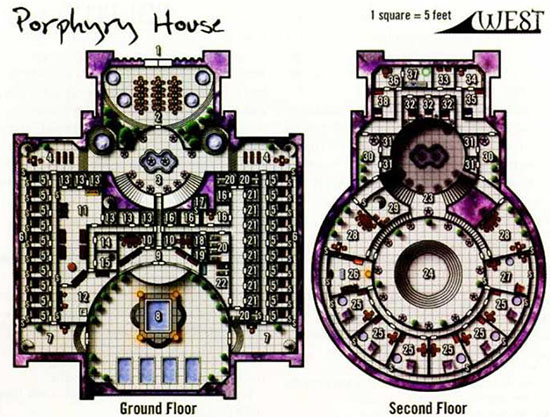 Porphyry House - Dungeon Magazine