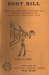 Boot Hill - Tactical Studies Rules (1975)