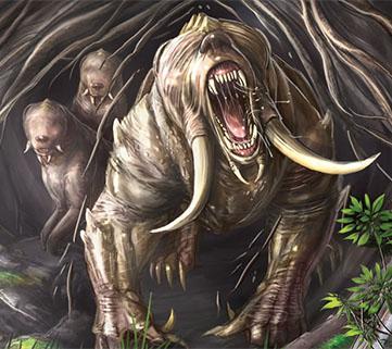 Ravage Bears - Numenera