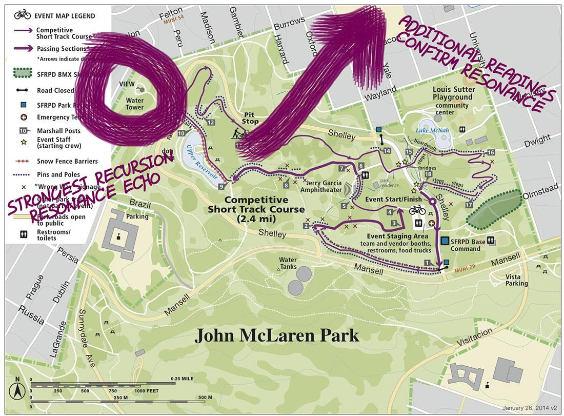 The Strange: Violet Spiral Gambit - John McLaren Park