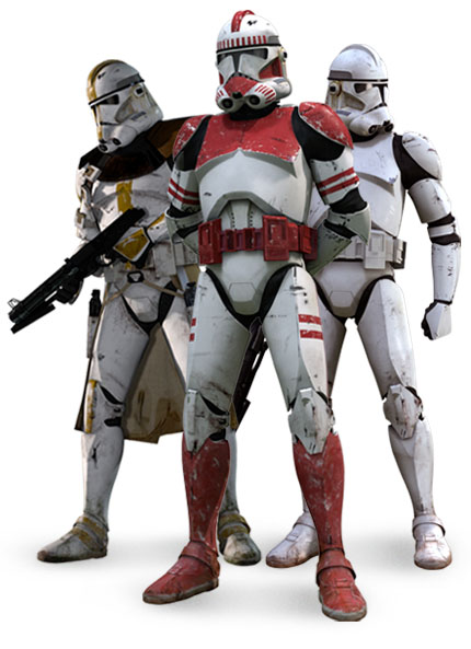 Star Wars: Red Peace - Commander Racto and the Clone Troopers