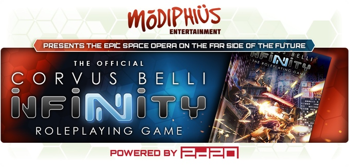 Corvus Belli's Infinity the Roleplaying Game