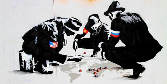 Banksy - World Leaders at Dice