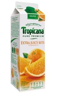 Orange Juice with Juicy Bits