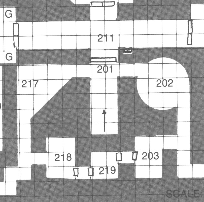 Sample Map - Temple of Elemental Evil (Gary Gygax)