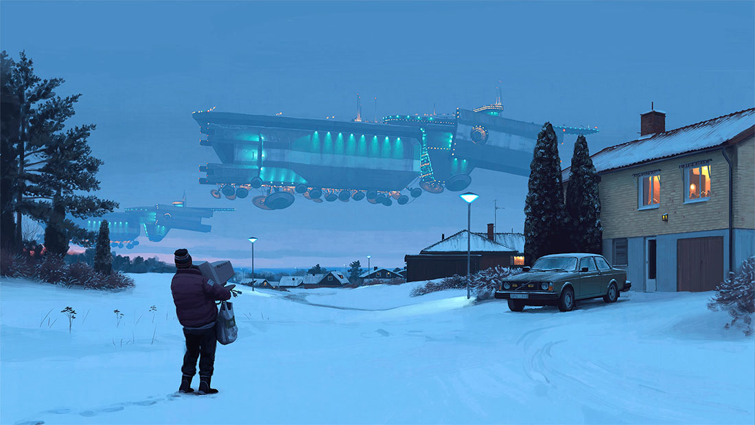 Tales from the Loop - Simon Stålenhag