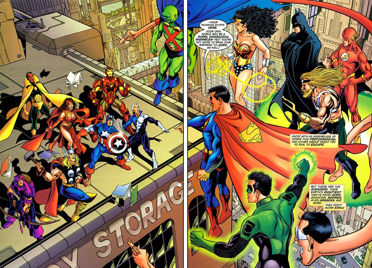 JLA/Avengers - Kurt Busiek, George Perez