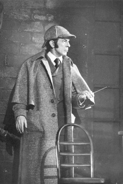 Sherlock Holmes - Leonard Nimoy